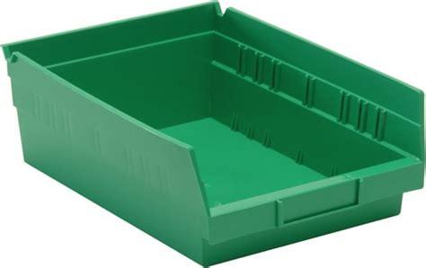 nesting plastic shelf bins qsb107 small parts storage