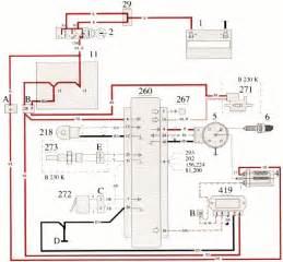 volvo 700 b230k engine ignition system wiring diagram