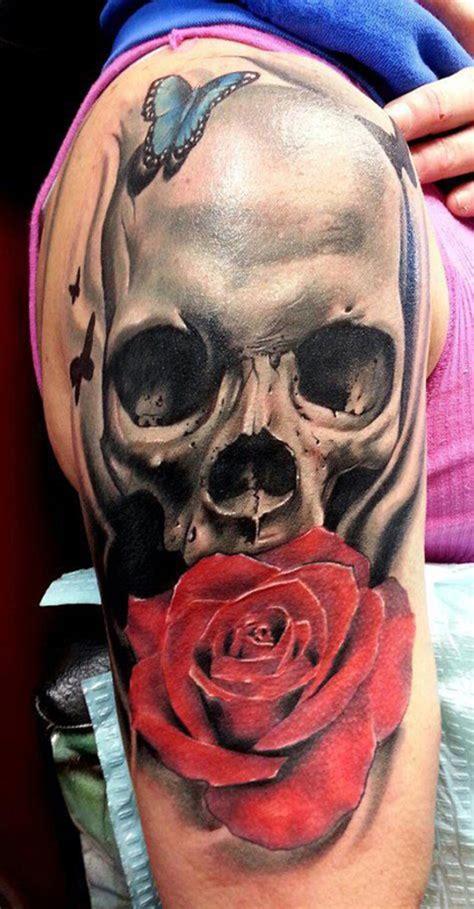 skull sleeve tattoos designs 51 skull tattoos for and inspirationseek