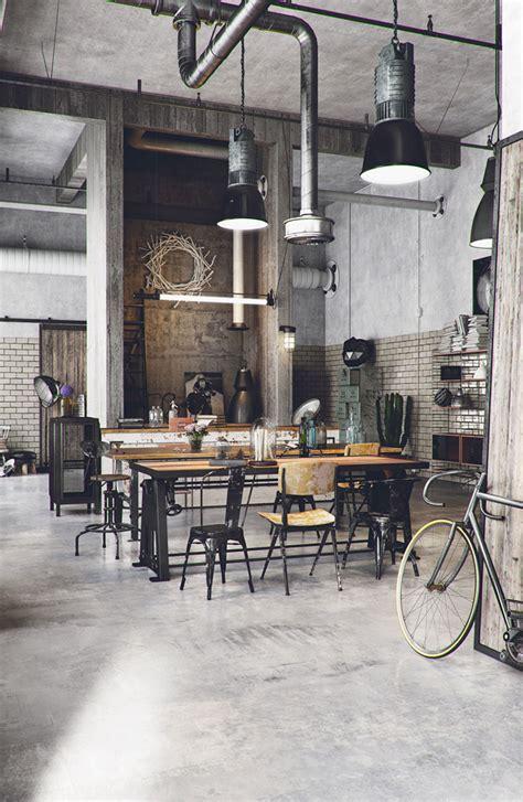 ladari per sala da pranzo come arredare una sala da pranzo in stile industriale