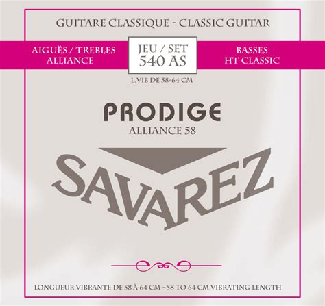 Savarez 540cr New Cristal Classic products catalog savarez