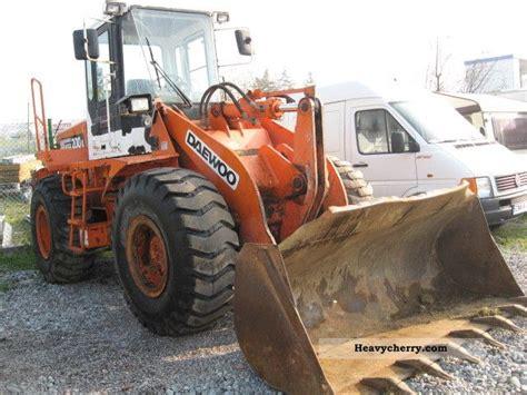 daewoo mega200 1999 wheeled loader construction equipment