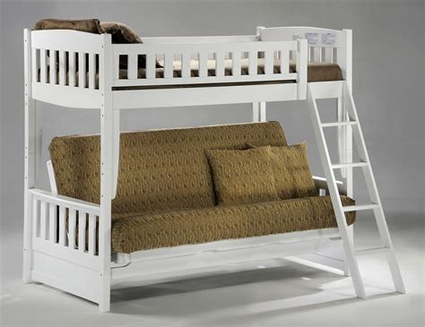 Create Loft Bed With Futon Blue Roof Fence Futons