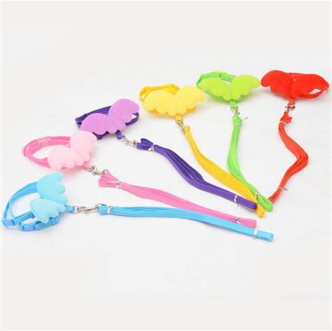 yorkie leash pet leashes and collars set puppy leads for small dogs cats designer