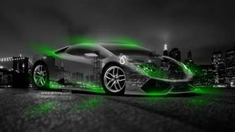 Neon Lamborghini Green Lamborghini 2014