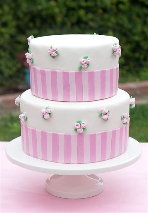Girly Baby Shower Cakes by Girlie Girly Baby Shower Cake Cakecentral