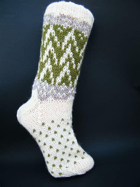 Mit Freundlichen Gr En Hrvatski Socken Mit Zackenmuster In Gr 38 39