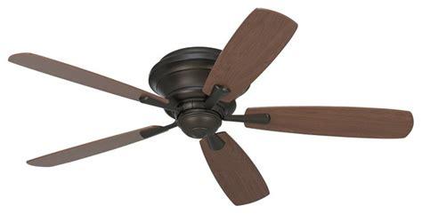 craftsman ceiling fans 52 quot casa san marin rubbed bronze hugger ceiling fan