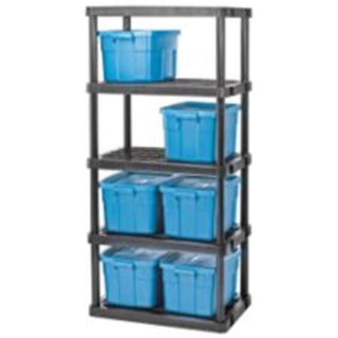 etagere garage canadian tire certified 5 shelf resin rack 36 x 24 x 72 in canadian tire