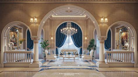 luxury mansion interior qatar  behance tap  link