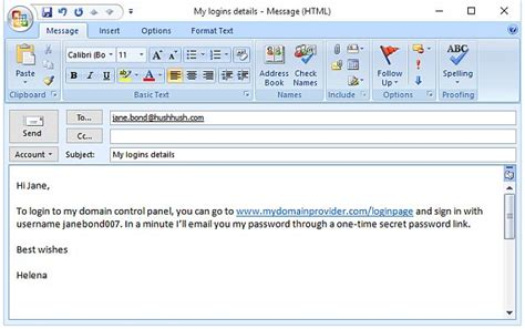 share email how to share passwords safely by email