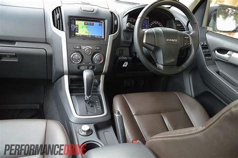 isuzu dmax interior 2012 isuzu d max ls terrain 4x4 review performancedrive