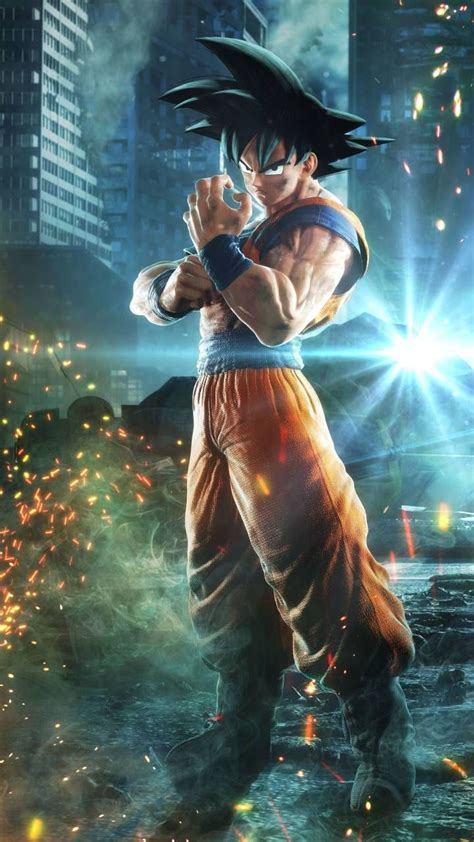 goku jump force wallpaper  ericscamander