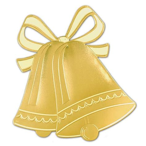Wedding Bell Clipart by Gold Clipart Wedding Bell Pencil And In Color Gold
