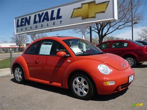 orange volkswagen beetle 2003 sundown orange volkswagen beetle gls coupe