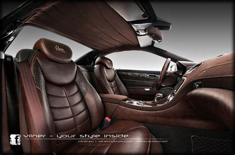 Leather Auto Upholstery by Mercedes Sl By Vilner Studio 2013 Interior Design