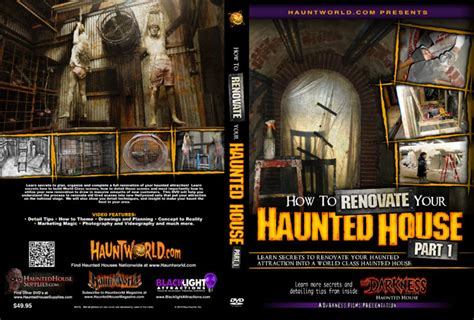 how to renovate your house haunted house supplies com how to renovate your haunted house part 1 dvd
