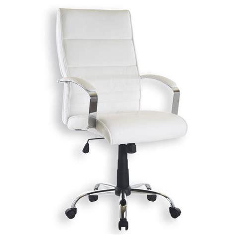 chaise bureau blanche chaise de bureau blanc