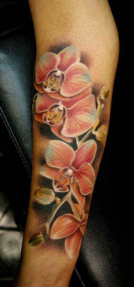 watercolor orchid tattoo 25 best ideas about orchid on shoulder