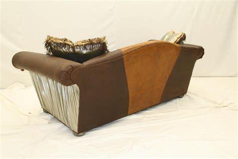 Handmade Leather Sofa - western furniture cool custom leather sofas