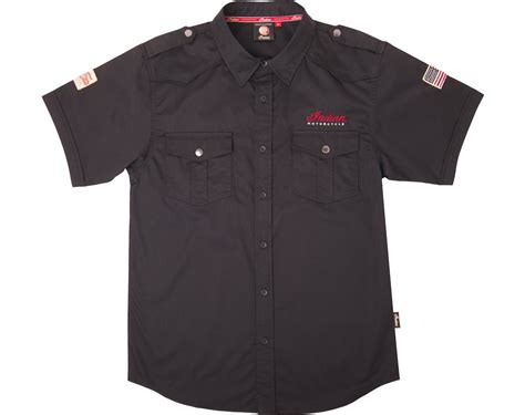 mens casual motorcycle men s casual shirt black indian motorcycle store
