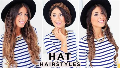 Hairstyles For Work Hats by 3 Hat Hairstyles Luxy Hair