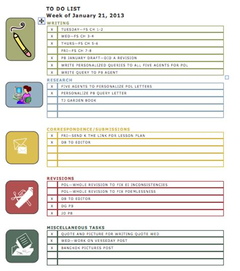 template of to do list to do list exles free to do list