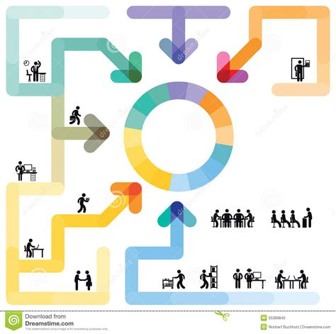 workflow graphics infographic workflow concept stock photo image 55369840