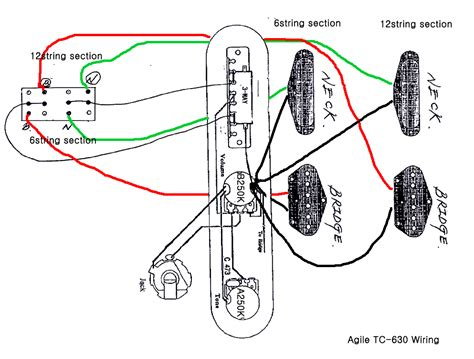 wiring schematic for neck tele the gear page