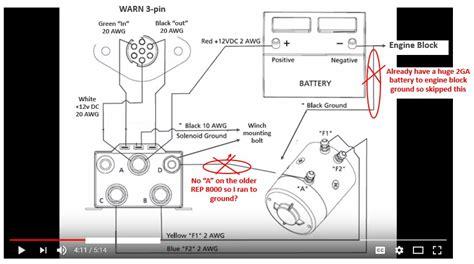 6000 badland winch wiring diagram badlands winch