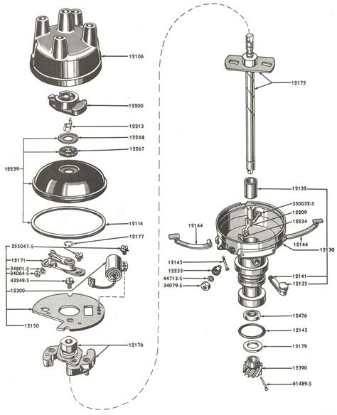distributor parts  ford jubilee naa tractors
