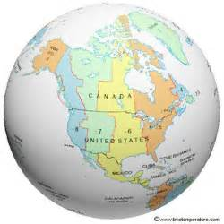 usa map in globe pictures time zones united states and canada