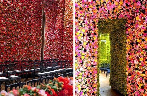 flower walls corporate event design