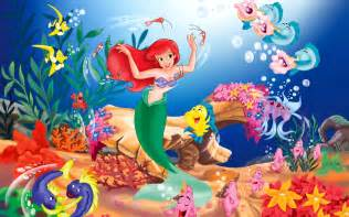 Bathroom Cross Stitch Patterns Free Disney The Little Mermaid Wallpapers Hd Wallpapers