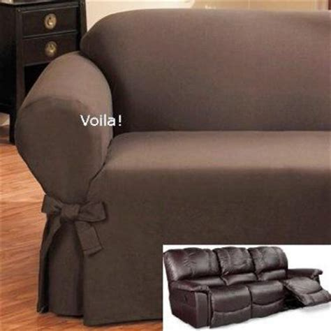 slipcover recliner sofa pin by voila on slipcover 4 recliner couch pinterest
