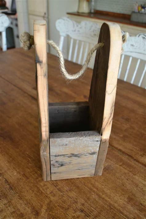 Handmade Woodwork - diy wood gift bag jar gift giveaway
