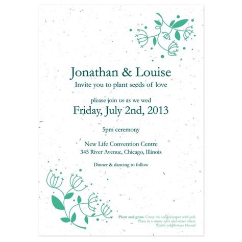 printable post wedding invitations free wedding printable reception invitation