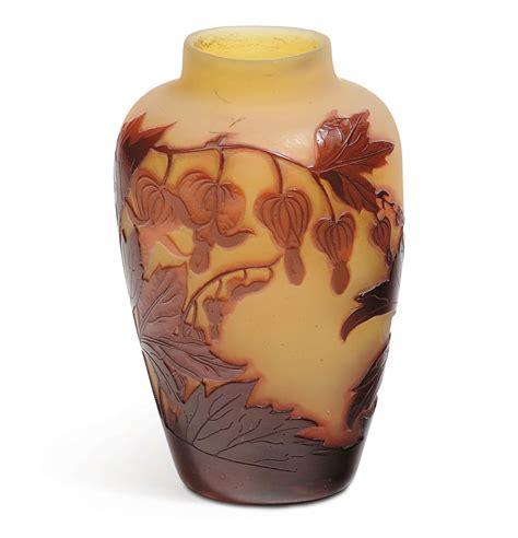 vasi galle emile gall 233 1846 1904 nancy piccolo vaso in vetro