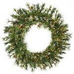 augusta cashmere pine wreaths premium artificial decorations 1000bulbs