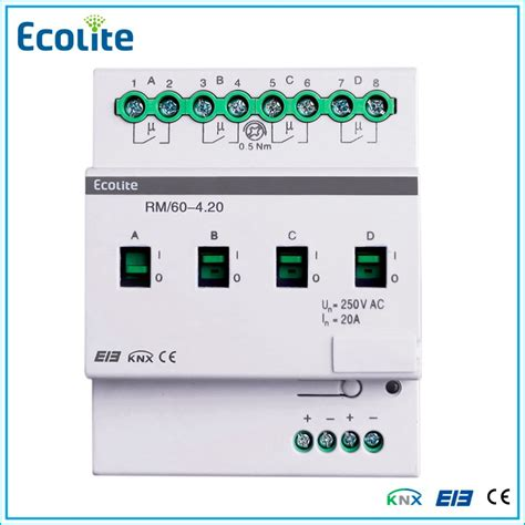knx eib home automation controllers switch actuator 4 ch
