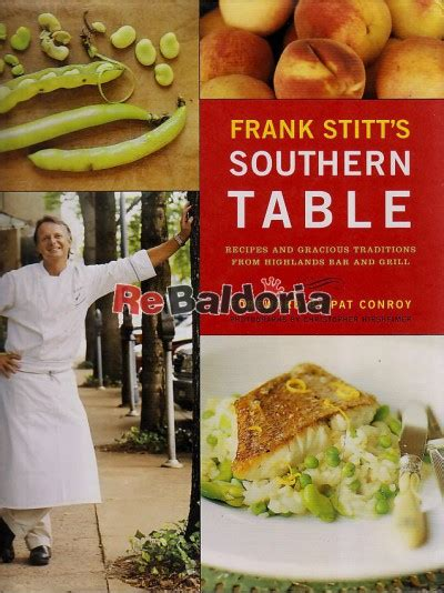 Frank Stitt S Southern Table Recipes And Gracious