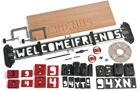 Router Alphabet Templates router letter template set valley tools