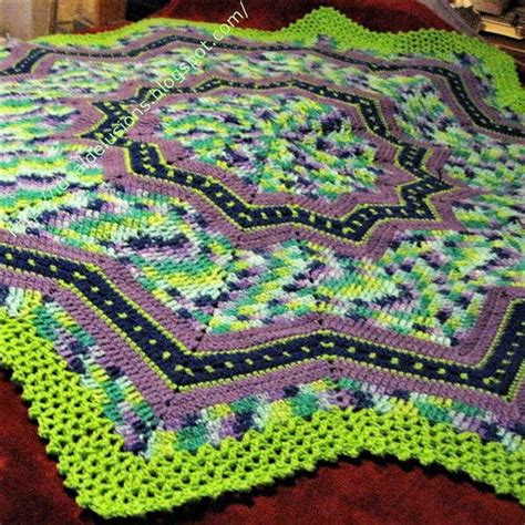 zig zag ripple crochet pattern zig zag classic ripple afghan allfreecrochet com