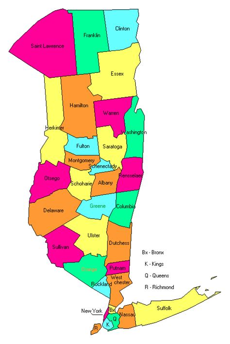 east map with counties east new york county trip reports