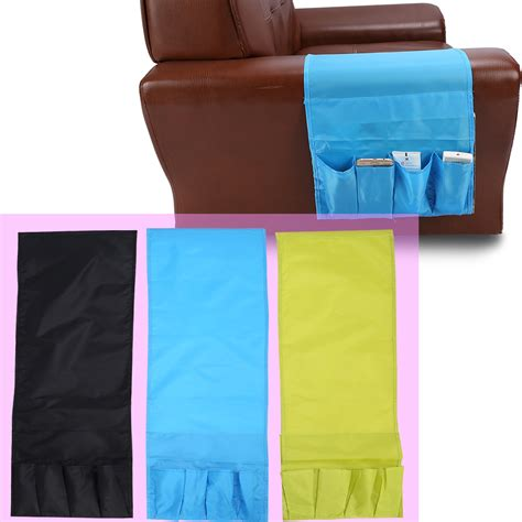 couch pouch sofa couch tv remote control holder arm rest organizer