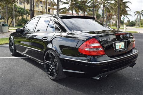 mercedes amg wheels benztuning 2006 mercedes w211 e55 amg on 20 quot niche