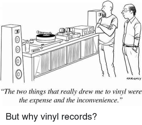 Vinyl Meme - gregory the two things that really drew me to vinyl were