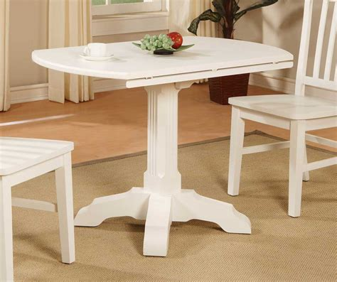 Drop Leaf Table White Wood Kitchen Table With Drawer Types Of Wood