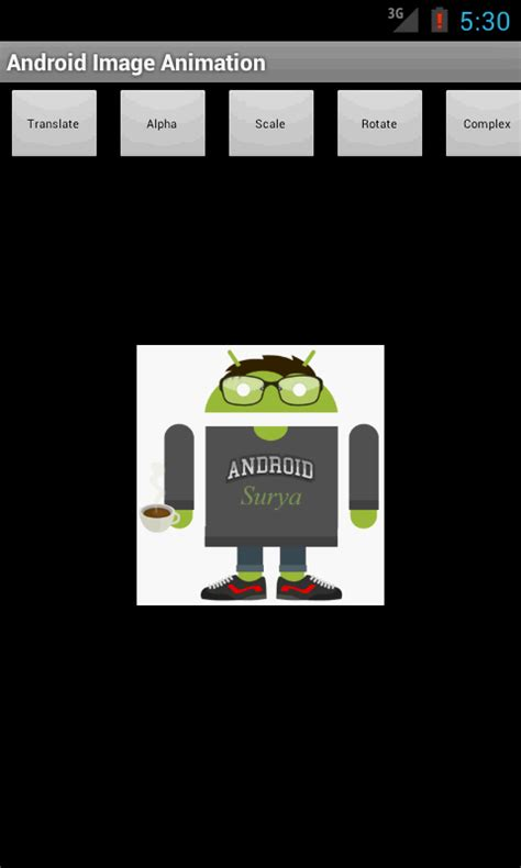 tutorial android animation android development tutorials for beginners android