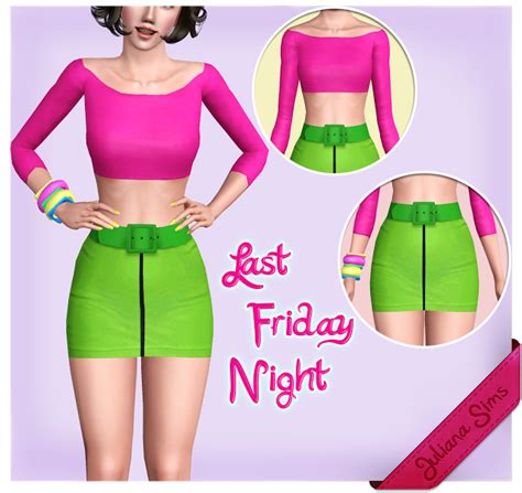 photo collection sims 3 blog my sims 3 blog last friday night skirt top set by juliana